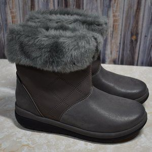 Clarks Cabrini Reef CloudSteppers Boots Winter 6